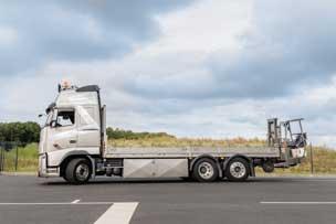 Camion porteur chariot